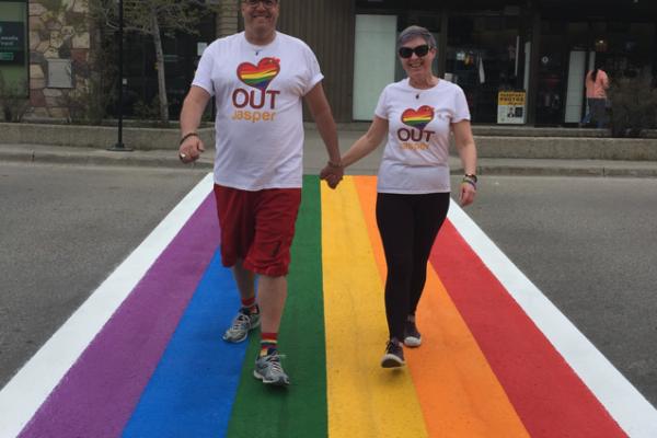Rainbow Crosswalk 2018/2019