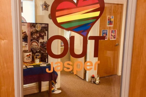 OUTJasper's New Office